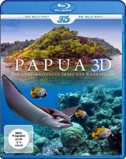 PAPUA 3D - Die geheimnissvolle Insel der Kannibalen (inkl. 2D Version) Blu-ray Cover