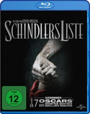 Schindlers Liste Blu-ray Cover