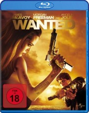 Wanted Blu-ray Cover