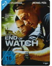 End of Watch (Steelbook) Blu-ray Cover