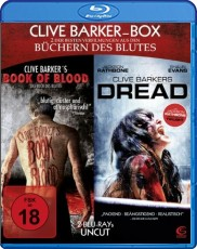 Clive Barker Box UNCUT - 2 Horror-Highlights in einer Box: Book of Blood + Dread Blu-ray Cover