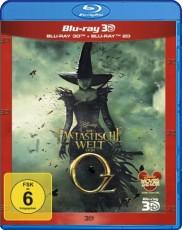 Die fantastische Welt von Oz 3D (inkl. 2D Version) Blu-ray Cover