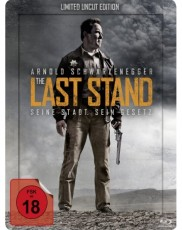 The Last Stand - Uncut (Steelbook) Blu-ray Cover