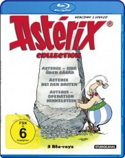 Asterix Collection  Blu-ray Cover