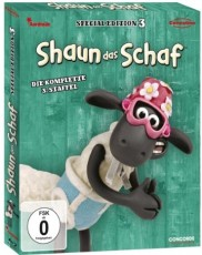 Shaun das Schaf - Box 3  (Special Edition) Blu-ray Cover