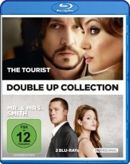 The Tourist/Mr. & Mrs. Smith (Double-Up Collection) Blu-ray Cover