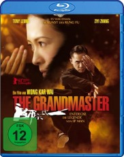 The Grandmaster  Blu-ray Cover