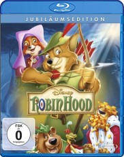 Robin Hood  (Walt Disney)  Blu-ray Cover