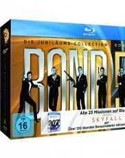 James Bond - Box 2013 Blu-ray Cover