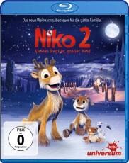 Niko 2 - Kleines Rentier, großer Held  Blu-ray Cover