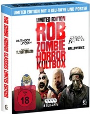 Rob Zombie Horror Kultbox (Limited Edition) Blu-ray Cover