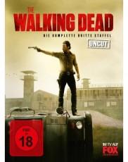 The Walking Dead: Staffel 3 (Uncut) Blu-ray Cover