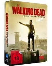 The Walking Dead 3. Staffel  (Limited Uncut Steelbook Edition) Blu-ray Cover
