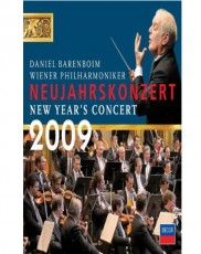 Daniel Barenboim: Neujahrskonzert 2009 Blu-ray Cover