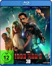 Iron Man 3 3D Blu-ray Cover