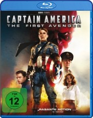 Captain America - The First Avenger  Blu-ray Cover