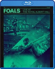 Foals - Live at the Royal Albert Hall  Blu-ray Cover