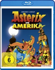 Asterix - In America  Blu-ray Cover