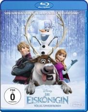Die Eiskönigin - Völlig Unverfroren  Blu-ray Cover