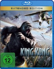 King Kong: Extended Edition Blu-ray Cover
