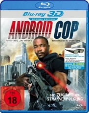Android Cop 3D Blu-ray Cover