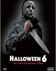 Halloween 6 - Der Fluch des Michael Myers (Uncut/Metal-Pack) Blu-ray Cover