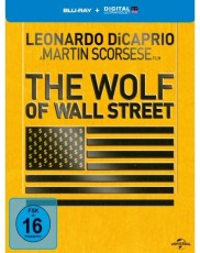 The Wolf of Wall Street (Limited Steelbook Edition) Blu-ray Cover