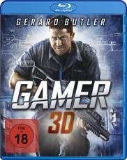Gamer 3D (Uncut inkl. 2D-Version) Blu-ray Cover
