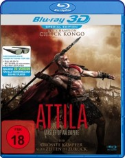 Attila 3D - Master of an Empire (Special Uncut Edition) Blu-ray Cover