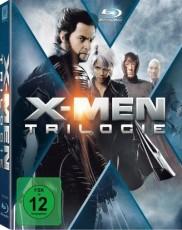 X-Men: Trilogie Blu-ray Cover