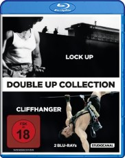 Cliffhanger/Lock Up (Double-Up Collection)  Blu-ray Cover