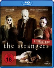 The Strangers: Unrated Blu-ray Cover