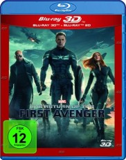 The Return of the First Avenger 3D (Steelbook inkl. 2D Version) Blu-ray Cover
