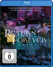 Return To Forever: Returns - Live At Montreux 2008 Blu-ray Cover