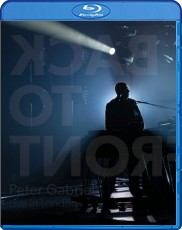 Peter Gabriel - Back To Front/Live in London (Deluxe Edition) Blu-ray Cover