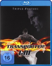 Transporter 1-3 (Triple Feature) Blu-ray Cover