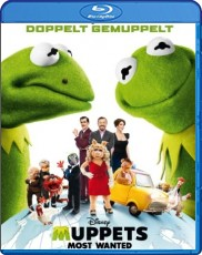 Muppets Most Wanted  Blu-ray Cover