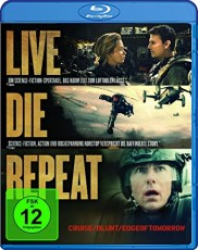 Live Die Repeat - Edge of Tomorrow  Blu-ray Cover
