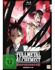 Full Metal Alchemist: Brotherhood - Volume 8 (Folge 57-64)  Blu-ray Cover