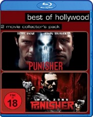 The Punisher/Punisher: War Zone - Best of Hollywood/2 Movie Collector`s Pack  Blu-ray Cover