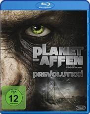 Planet Der Affen Prevolution  Blu-ray Cover