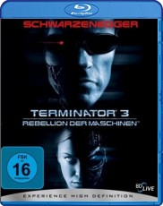 Terminator 3: Rebellion der Maschinen Blu-ray Cover