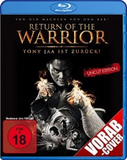 Return of the Warrior  Blu-ray Cover