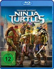 Teenage Mutant Ninja Turtles Blu-ray Cover