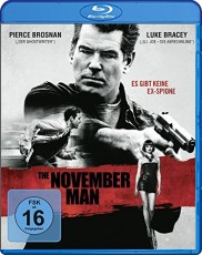The November Man Blu-ray Cover
