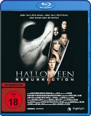 Halloween  Resurrection Blu-ray Cover