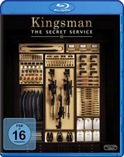 Kingsman - The Secret Service Blu-ray Cover