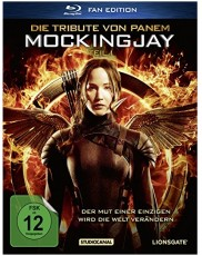 Die Tribute von Panem - Mockingjay Teil 1 Blu-ray Cover