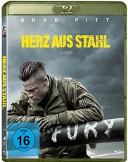 Fury - Herz aus Stahl Blu-ray Cover