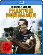Phantom Kommando - Directors Cut Blu-ray Cover